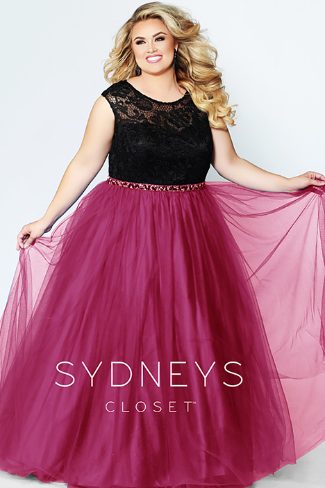 SC 7269 Berry Prom                                             dress by Sydney's Closet Prom+