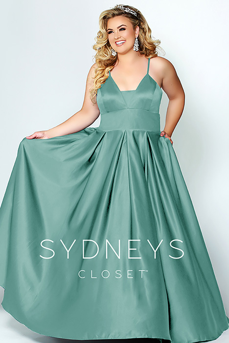SC 7270 Mint Prom                                             dress by Sydney's Closet Prom+
