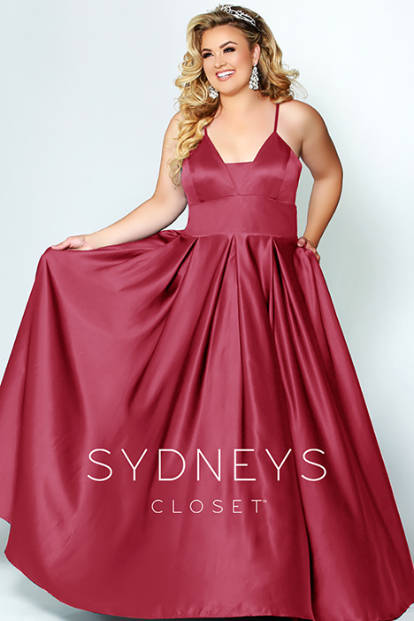 SC 7270 Red Prom                                             dress by Sydney's Closet Prom+