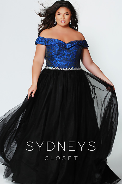 SC 7271 Prom                                             dress by Sydney's Closet Prom+