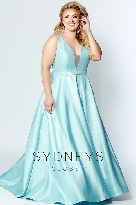 SC 7273 Blue Prom                                             dress by Sydney's Closet Prom+