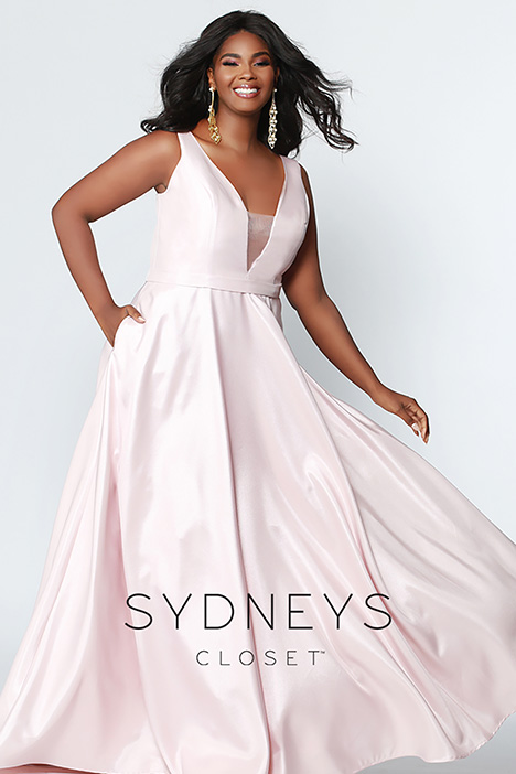 SC 7273 Blush Prom                                             dress by Sydney's Closet Prom+