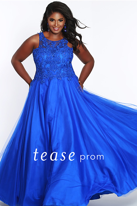 TE 1823 Royal gown from the 2019 Tease Prom+ collection, as seen on dressfinder.ca