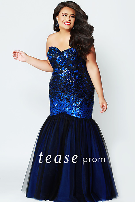 TE 1901 Royal gown from the 2019 Tease Prom+ collection, as seen on dressfinder.ca