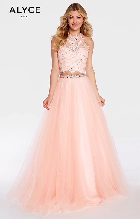 1299 blush Prom                                             dress by Alyce Paris