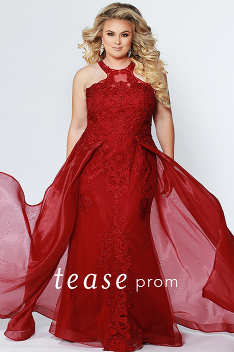 TE 1904 Garnet gown from the 2019 Tease Prom+ collection, as seen on dressfinder.ca