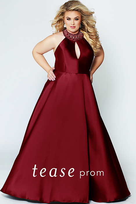 TE 1907 Red Prom                                             dress by Tease Prom+