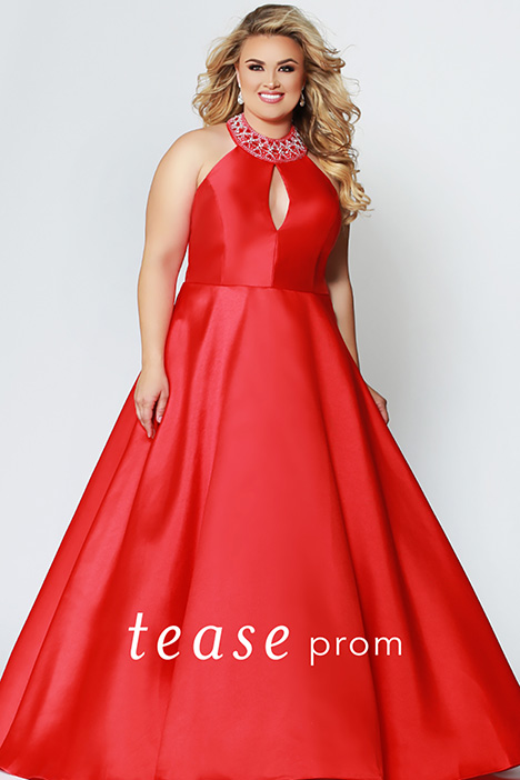 TE 1907 Cherry Prom                                             dress by Tease Prom+