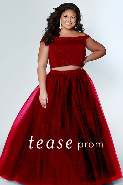 TE 1909 Cherry Prom                                             dress by Tease Prom+
