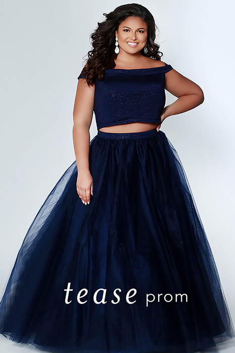 TE 1909 Indigo Prom                                             dress by Tease Prom+