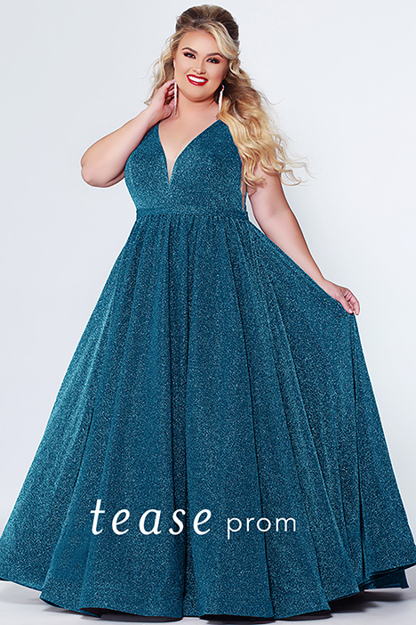 TE 1910 Peacock Prom                                             dress by Tease Prom+