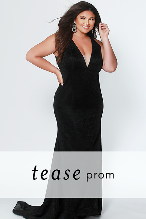 TE 1911 Black Prom                                             dress by Tease Prom+