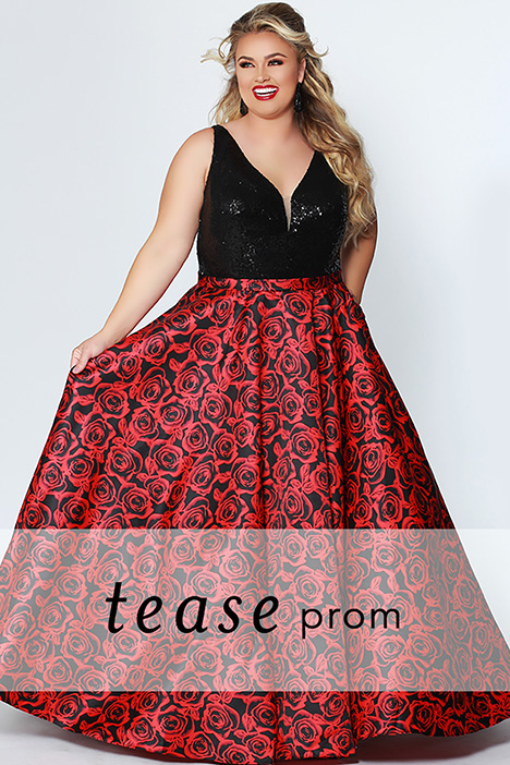 TE 1914 gown from the 2019 Tease Prom+ collection, as seen on dressfinder.ca