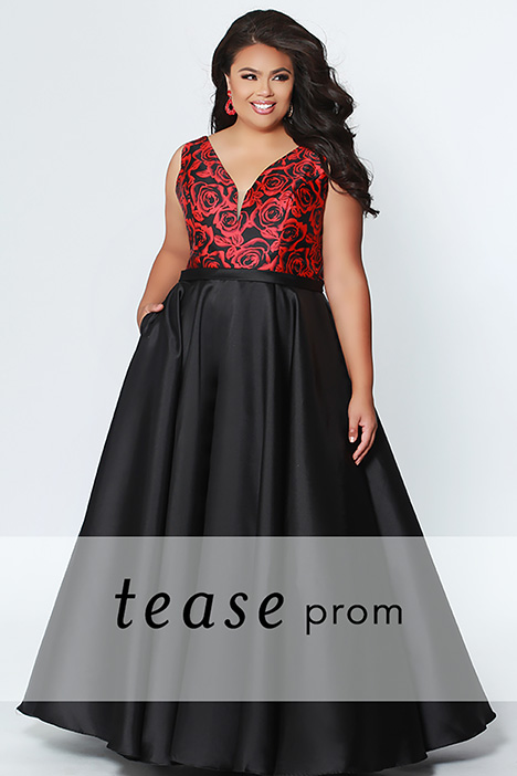 TE 1916 gown from the 2019 Tease Prom+ collection, as seen on dressfinder.ca