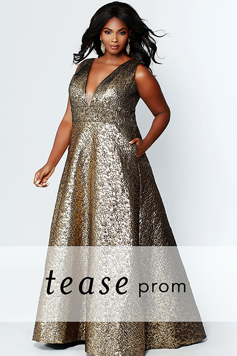TE 1918 gown from the 2019 Tease Prom+ collection, as seen on dressfinder.ca