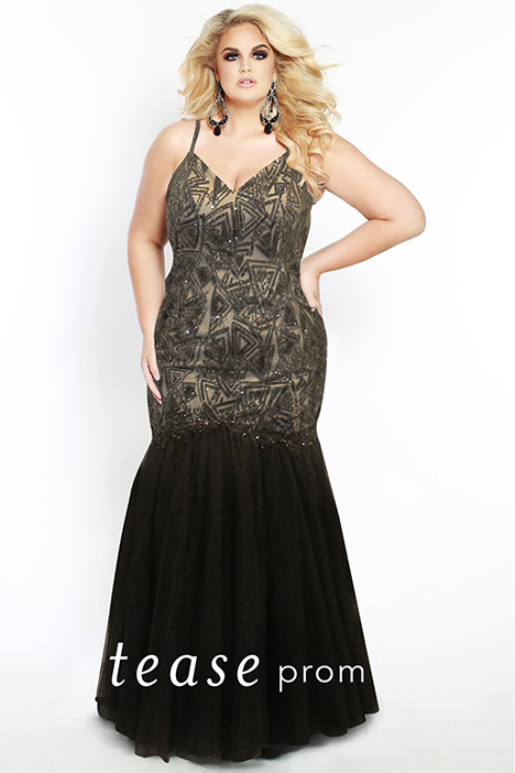 TE 1922 gown from the 2019 Tease Prom+ collection, as seen on dressfinder.ca