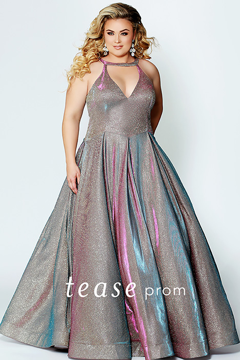 TE 1924 Holo Prom                                             dress by Tease Prom+