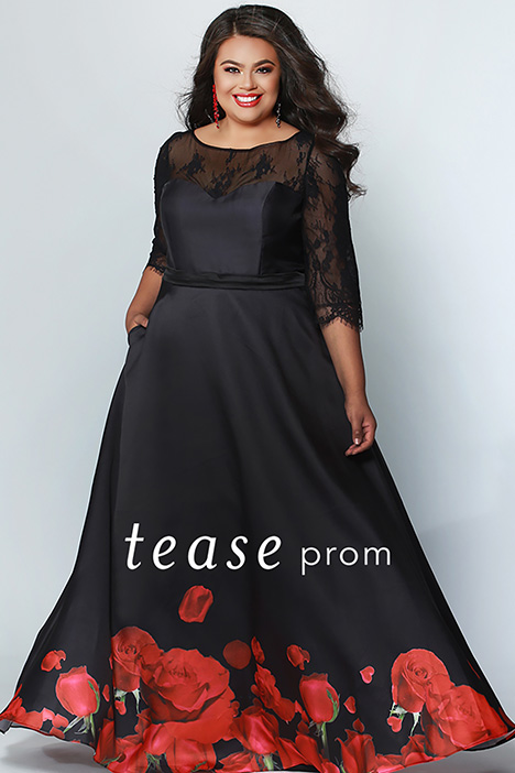 TE 1934 gown from the 2019 Tease Prom+ collection, as seen on dressfinder.ca