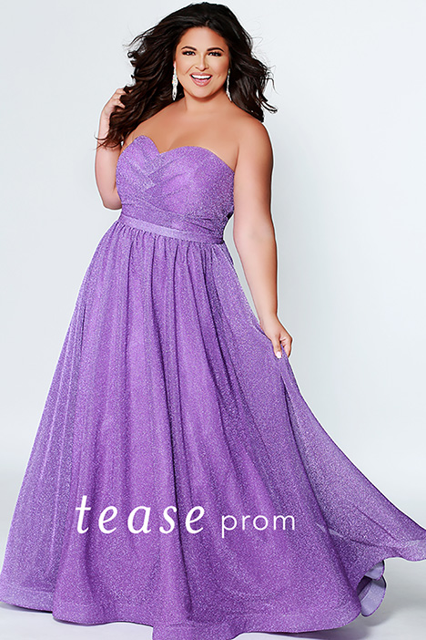 TE 1937 Lilac gown from the 2019 Tease Prom+ collection, as seen on dressfinder.ca