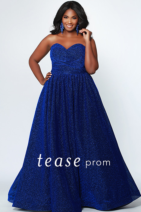 TE 1937 Sapphire gown from the 2019 Tease Prom+ collection, as seen on dressfinder.ca