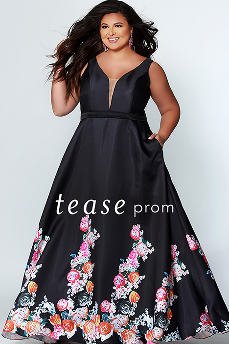 TE 1939 gown from the 2019 Tease Prom+ collection, as seen on dressfinder.ca