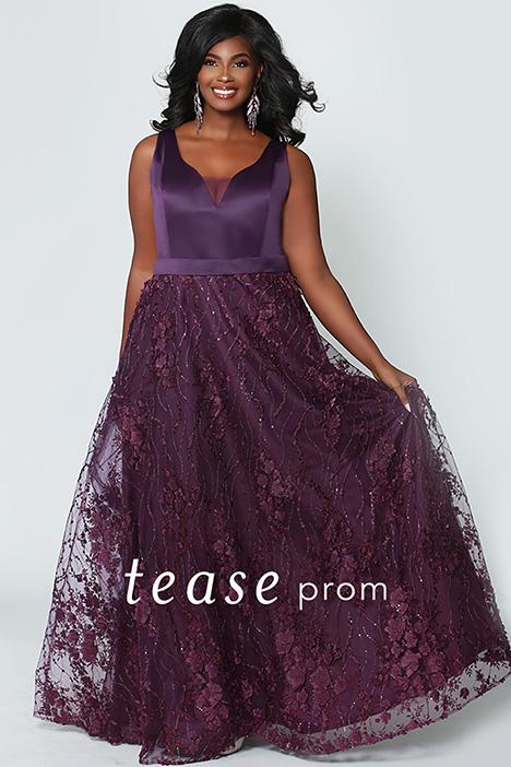 TE 1952 Aubergine Prom dress by Tease Prom+
