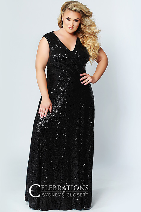 CE 180 Black Prom                                             dress by Sydney's Closet Celebrations+