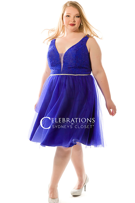 CE 1818 Royal Prom                                             dress by Sydney's Closet Celebrations+