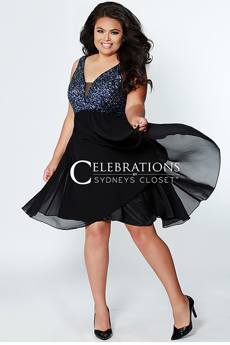 CE 1820 Sequin Prom                                             dress by Sydney's Closet Celebrations+