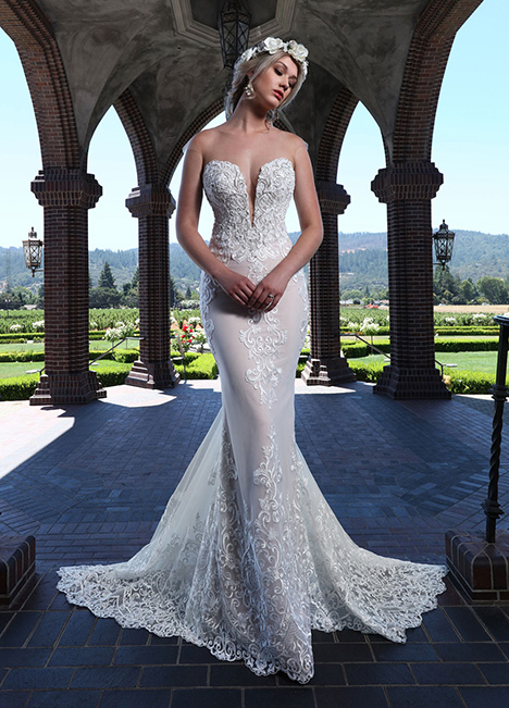 10662-A Wedding                                          dress by Ashley & Justin Bride
