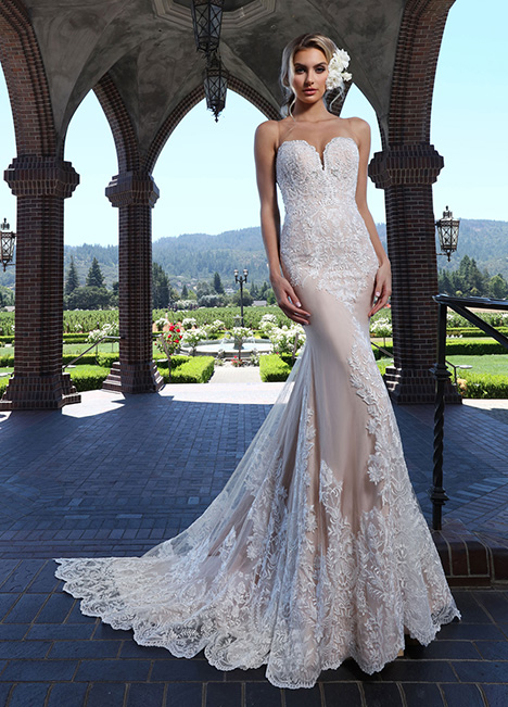 10664-A Wedding                                          dress by Ashley & Justin Bride