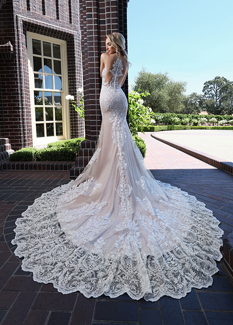 10664 Back Wedding                                          dress by Ashley & Justin Bride