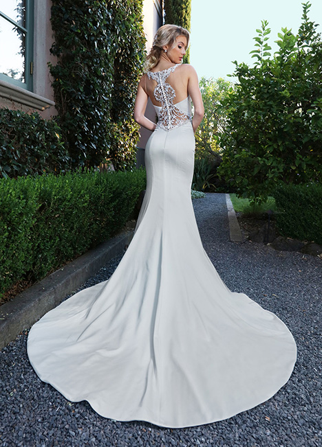 10678 Back Wedding                                          dress by Ashley & Justin Bride