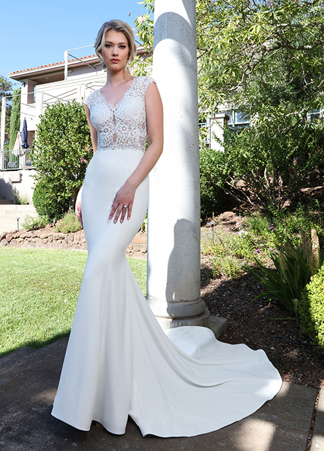10679 Wedding                                          dress by Ashley & Justin Bride