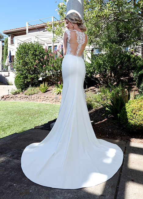 10679 Back Wedding                                          dress by Ashley & Justin Bride