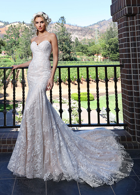 10698 Wedding                                          dress by Ashley & Justin Bride