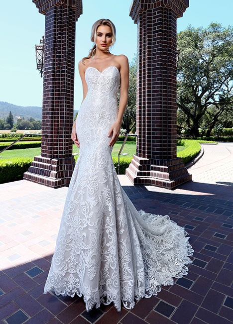 10699 Wedding                                          dress by Ashley & Justin Bride