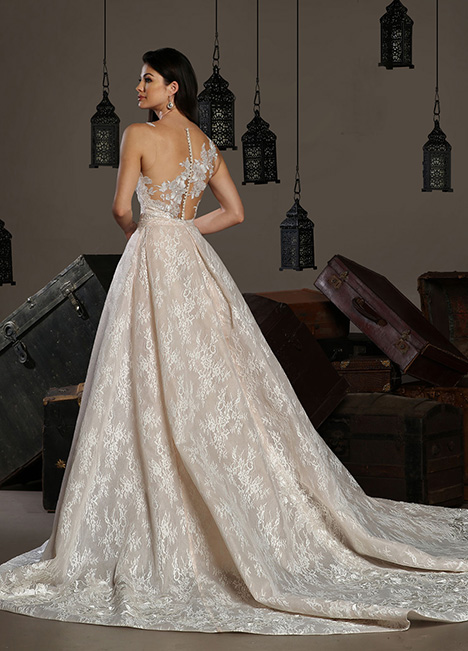 13174 Back Wedding                                          dress by Cristiano Lucci