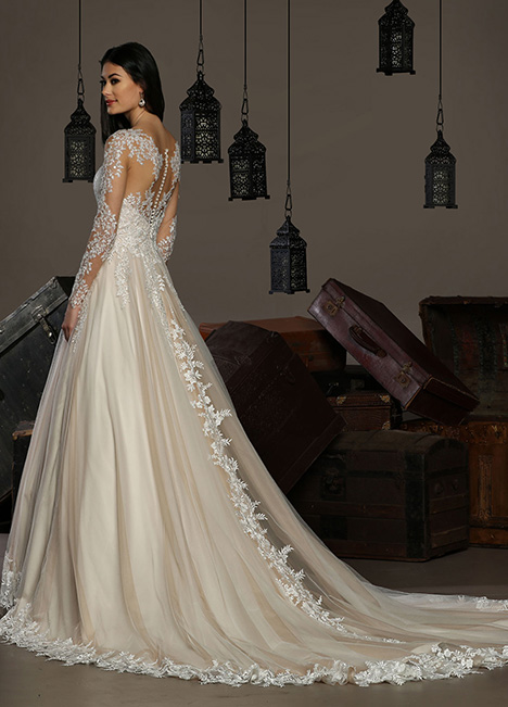 13182 Back Wedding                                          dress by Cristiano Lucci