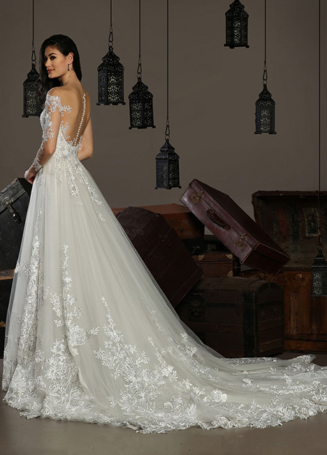 13183 Back Wedding                                          dress by Cristiano Lucci