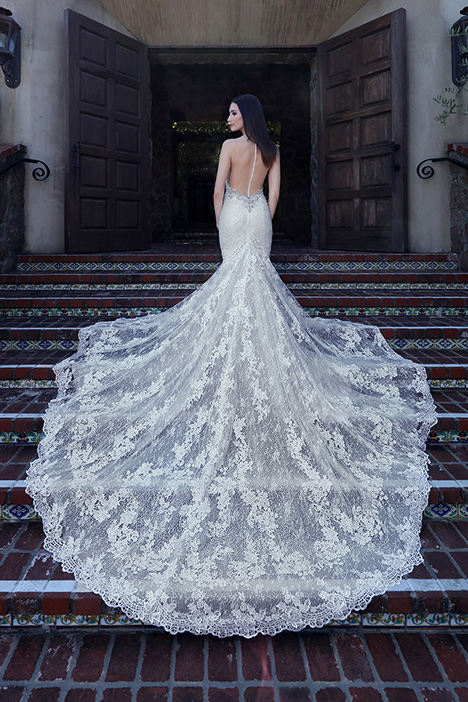 13212 Back Wedding                                          dress by Cristiano Lucci