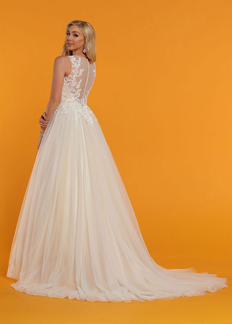 50515 Back Wedding                                          dress by DaVinci
