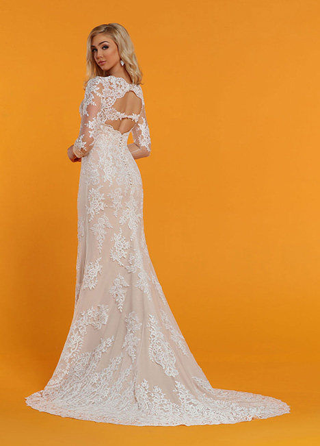 50516 Back Wedding                                          dress by DaVinci