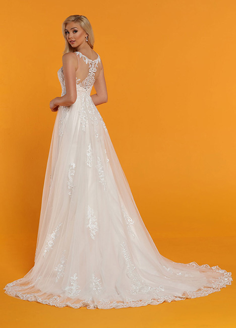 50519 Back Wedding                                          dress by DaVinci