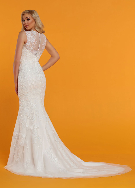 50523 Back Wedding                                          dress by DaVinci