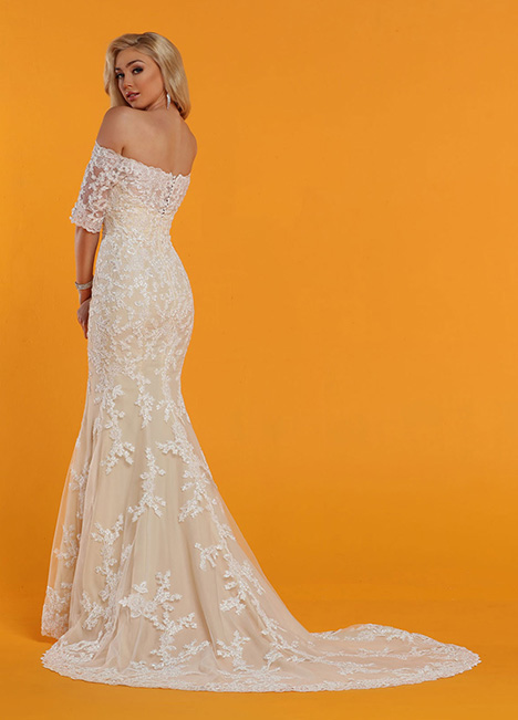 50529 Back Wedding                                          dress by DaVinci